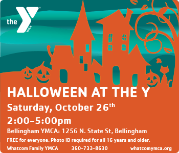 YMCA WHATCOM KIDS INSIDER OCT 2019 Halloween Special Ad